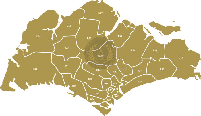 Singapore Property Districts